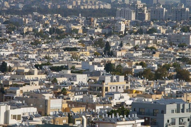 """Tel Aviv, también conocida como """"la ciudad blanca"""""""