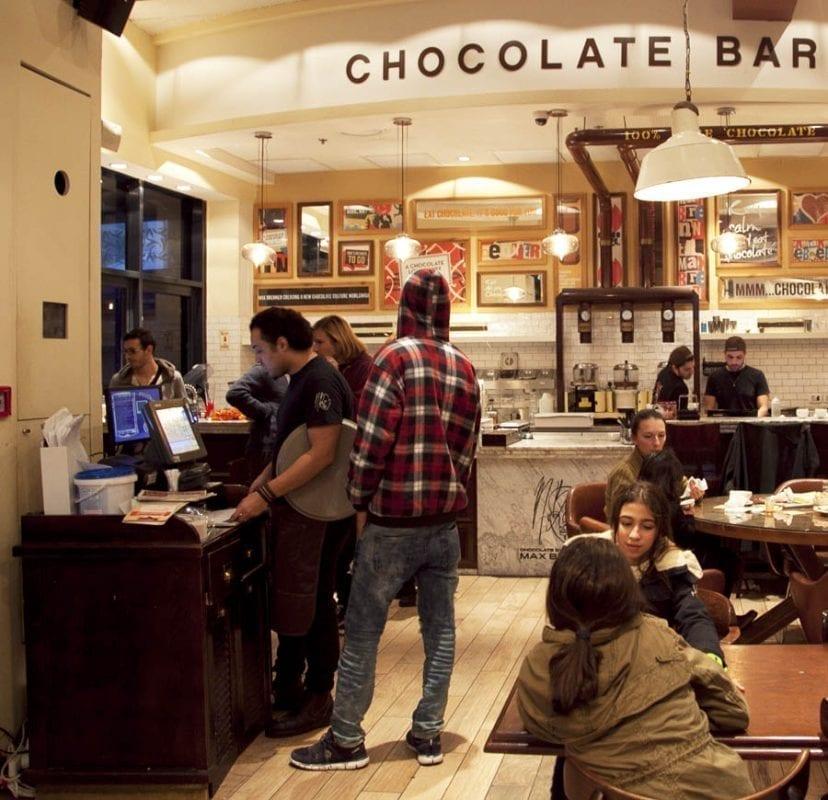 El pasaíso del chocolate en Tel Aviv