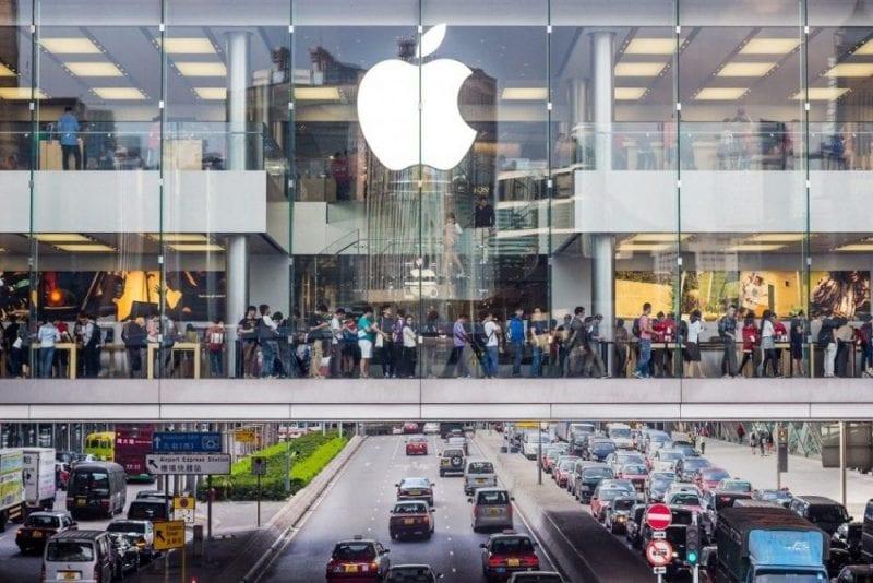 Tienda Apple en Hong Kong