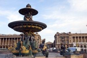 La plaza de la Concordia en pleno centro de París
