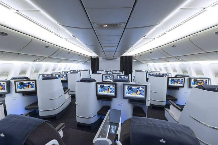 La comodidad, clave en vuelos largos