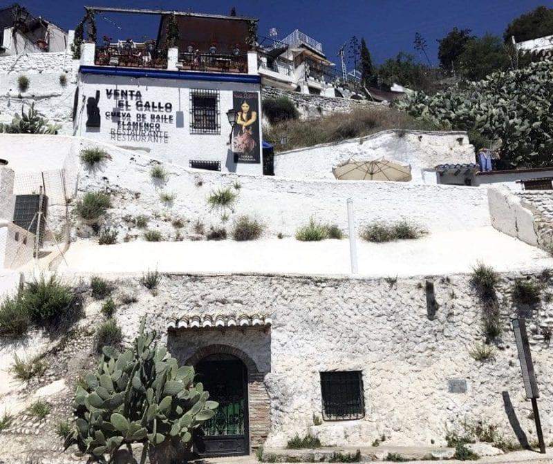 El Sacromonte se sitúa en la colina de Valparaíso