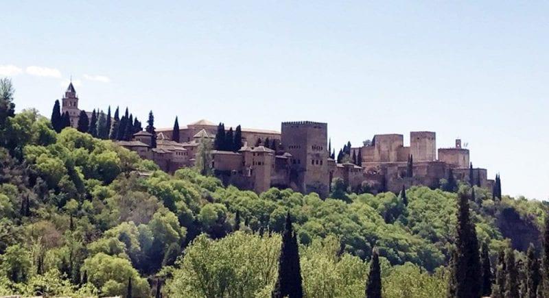 La silueta de la Alhambra, la foto obligada de Granada