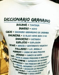 "Diccionario ""granaino"""