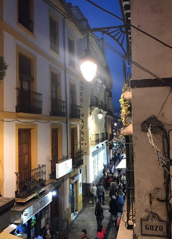 Callejuelas del centro de Granada