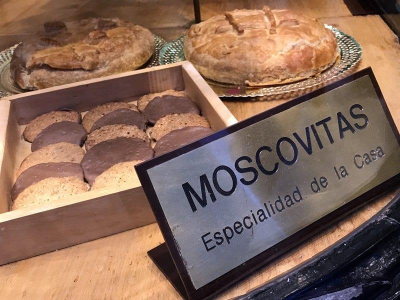 Las moscovitas, buen recuerdo de Oviedo