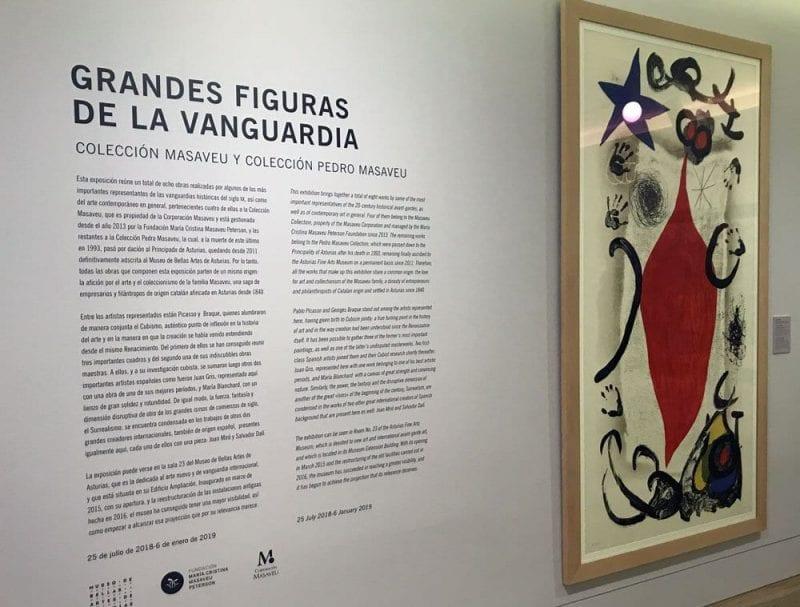 """""""La Grande Écaillère"""" (la gran vendedora de ostras) de Joan Miró, una de las grandes obras del museo"""