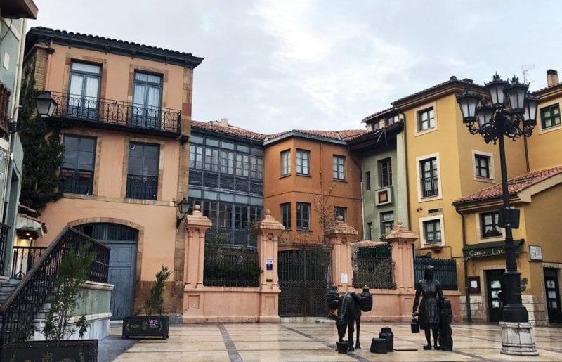 Plaza de Trascorrales oviedo