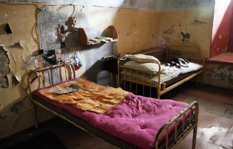 Celda de la prisión de Patarei