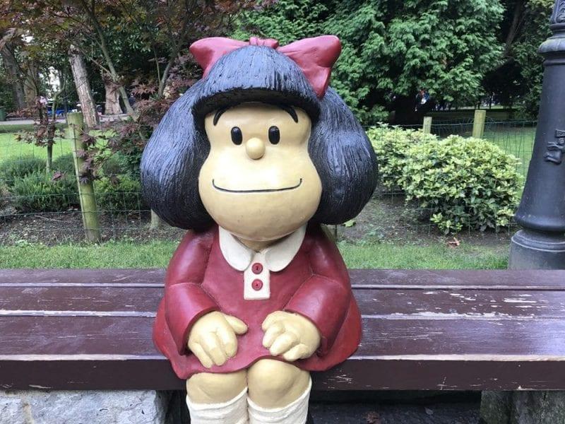Mafalda casi nunca está sola