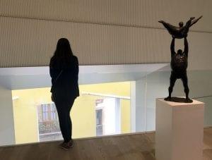 museo de bellas artes en oviedo interior