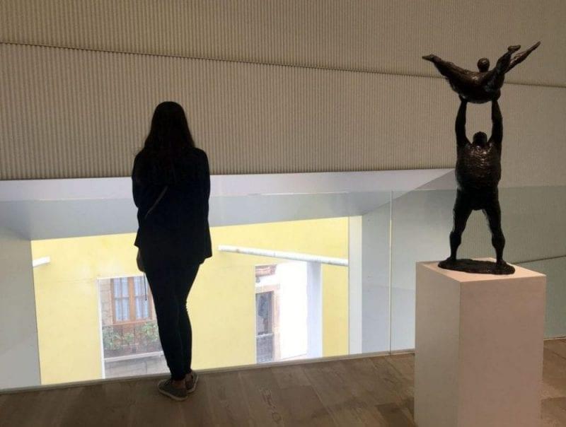 El museo de Bellas Artes de Oviedo abre todos los días, de martes a domingos. Lunes cerrado