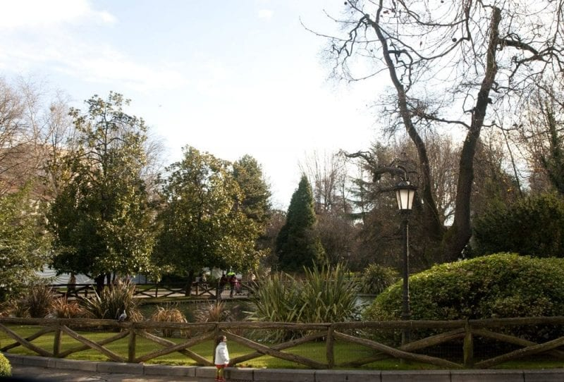 Parque de San Francisco en el corazón de Oviedo