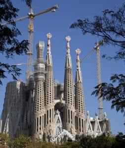 La Sagrada Familia es la gran obra de Gaudí