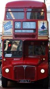Los autobuses de dos pisos, un icono clásico de Londres