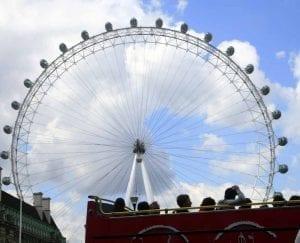 La noria de Londres, otro imprescindible en tu viaje a Londres