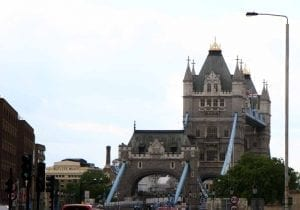 Tower Bridge tiene una estampa muy peculiar