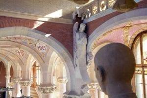 El Hospital Sant Pau tiene una ornamentación preciosista