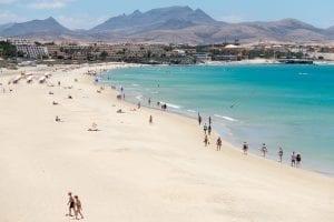 Fuerteventura es famosa por su playas