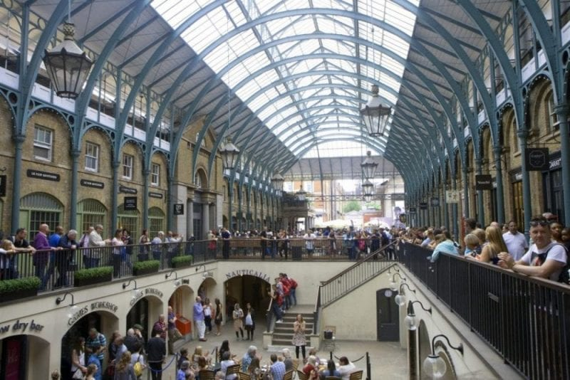 Covent Garden, Londres, un imprescindible en Londres