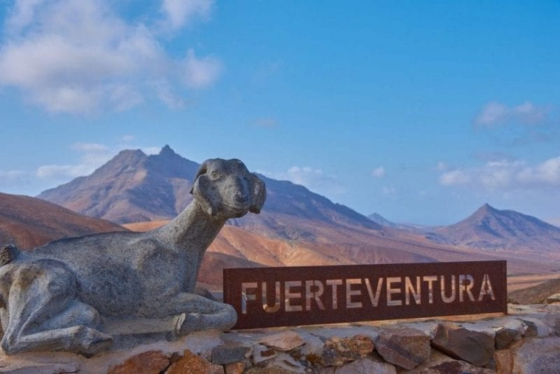 Fuerteventura es una isla volcánica