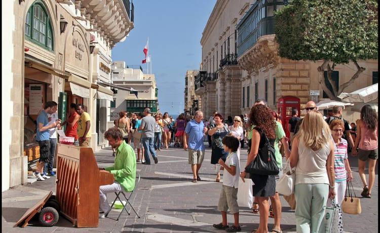 Las calles de La Valleta se llenarán de vida en 2018