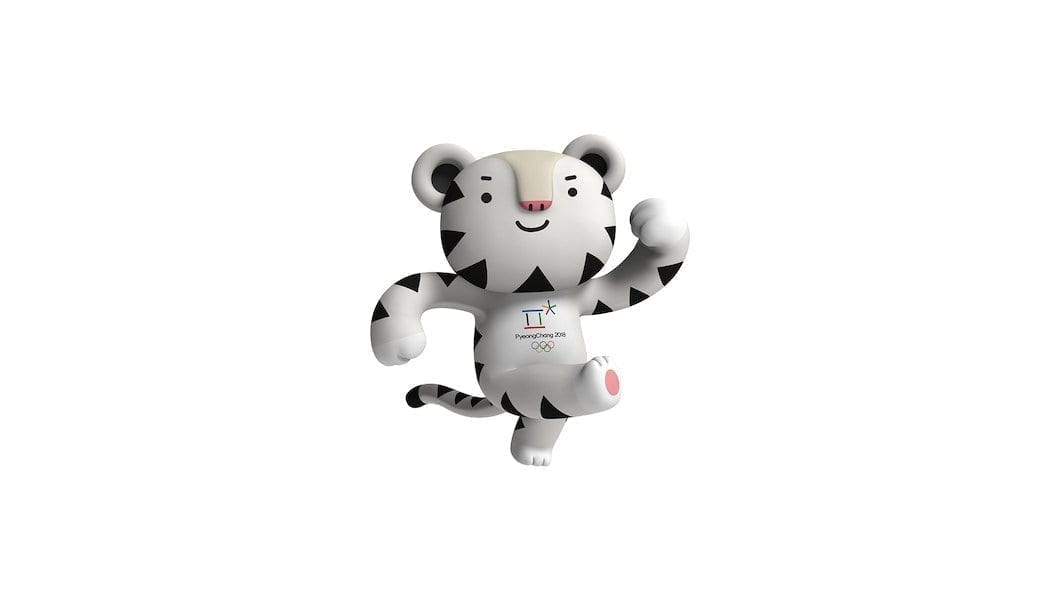 Soohorang, la mascota de PyeongChang 2018