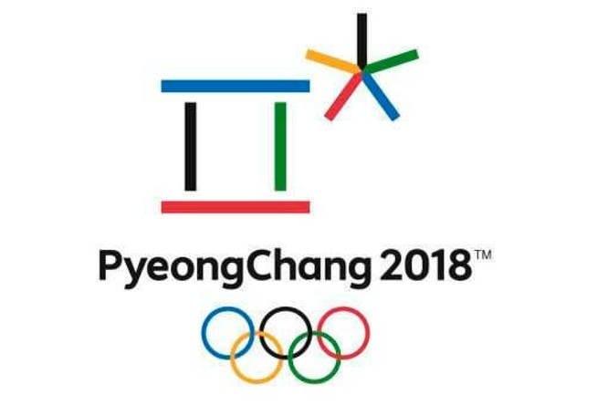Logo de los Juegos Olímpicos de Invierno en Corea del Sur