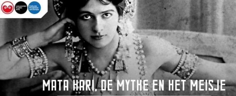 La espía Mata Hari tendrá protagonismo en Leeuwarden 2018