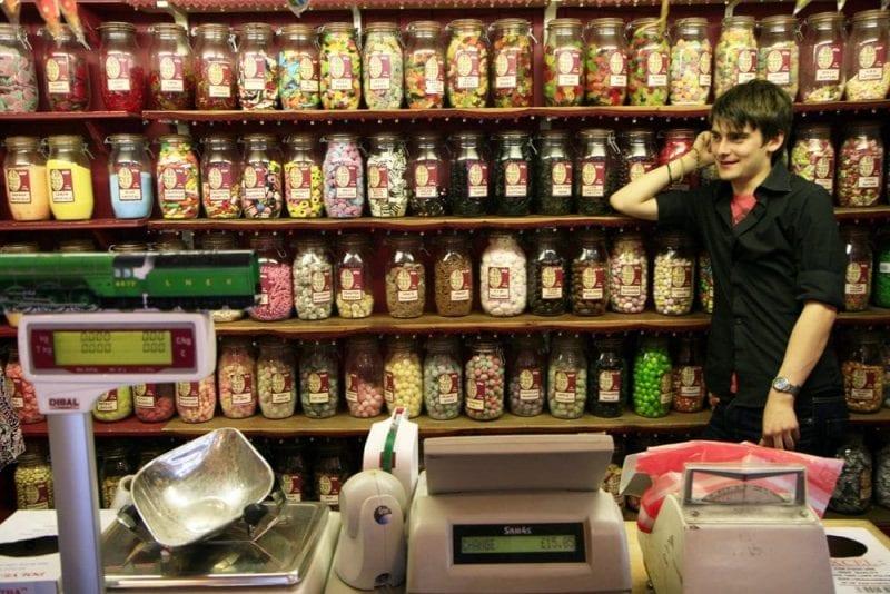 Tienda de chuches en los Cotswolds
