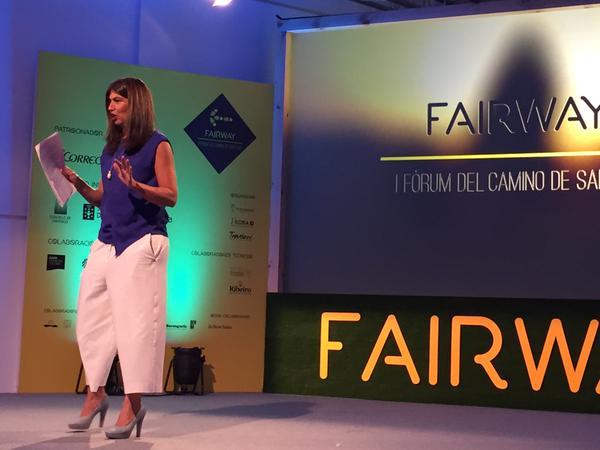 Nani Arenas, ponente habitual en congresos profesionales de turismo