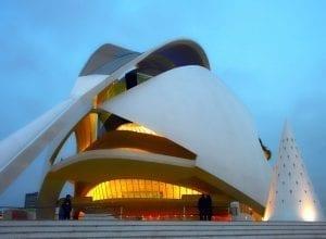 El Palau de las Artes y la Ópera Reina Sofía fue la última incorporación a la Ciudad de las Artes de valencia