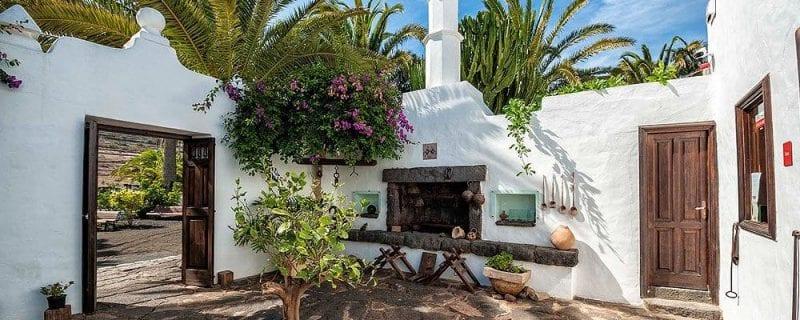 """Detalle de la """"casa del palmeral"""""""