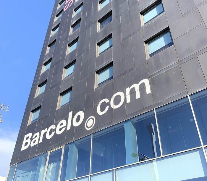 Fachada hotel Barceló Valencia
