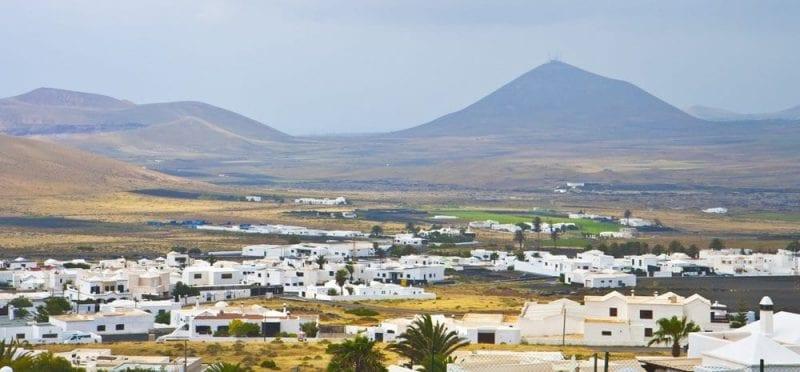 Panoramica de Lanzarote