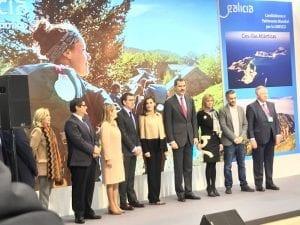 Los Reyes de España inauguraron Fitur 2018