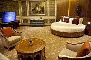 En la sute real de este hotel de Doha no hay problemas de espacio