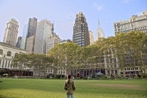 Bryant Park, la plaza mas bonita de Manhattan