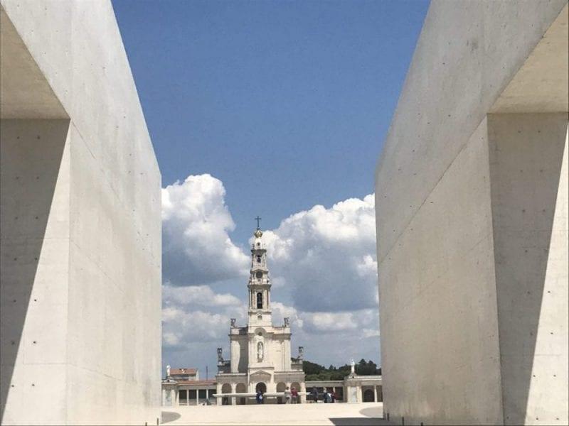 Vista del Santuario de Fátima