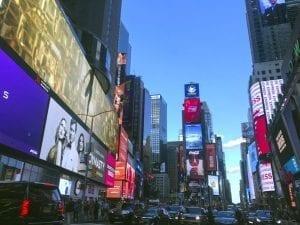 Times Square, visita obligada en en Nueva York