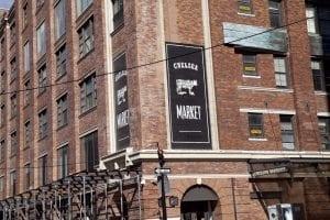 Entrada al Chelsea Market