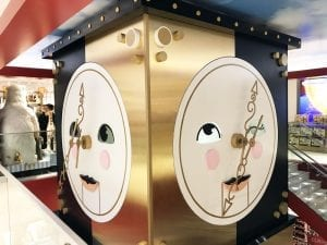 El reloj de la Fao tiene ojos y boca