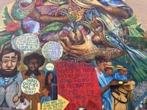 Los muros de Williamsburg están llenos de graffitis