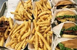 Las hamburguesas de Shake Shack están de moda