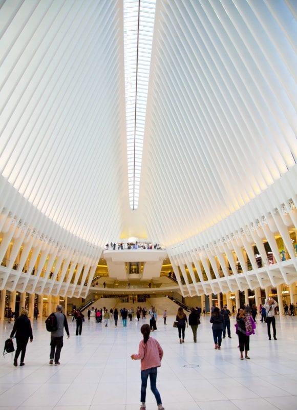 El Oculus es obra del español Santiago Calatrava