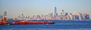 Panorámica de Manhattan desde ferry Staten Island