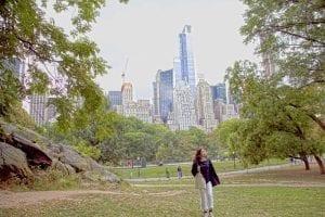 Pasear por Central Park es un placer