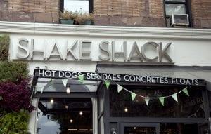Hay varios Shake Shack en nueva york