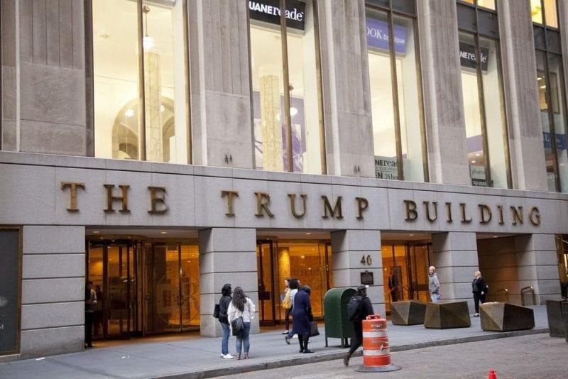 Donald Trump tienen varias torres por todo Manhattan