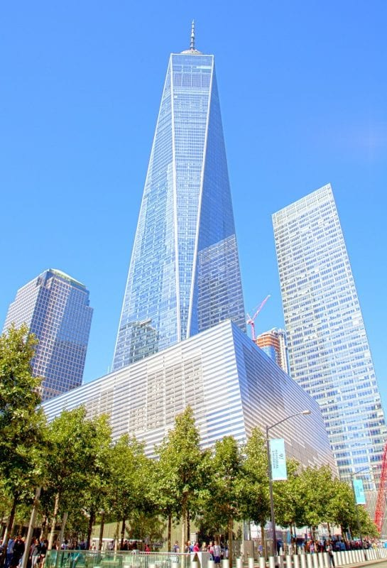 La torre del World Trade Center